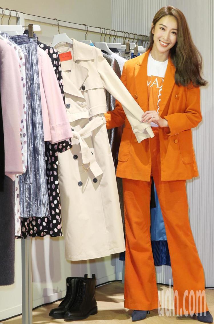 3 in 1長版風衣可在旅行時變換多種穿搭方式,售價27,800元。圖/MAX&...