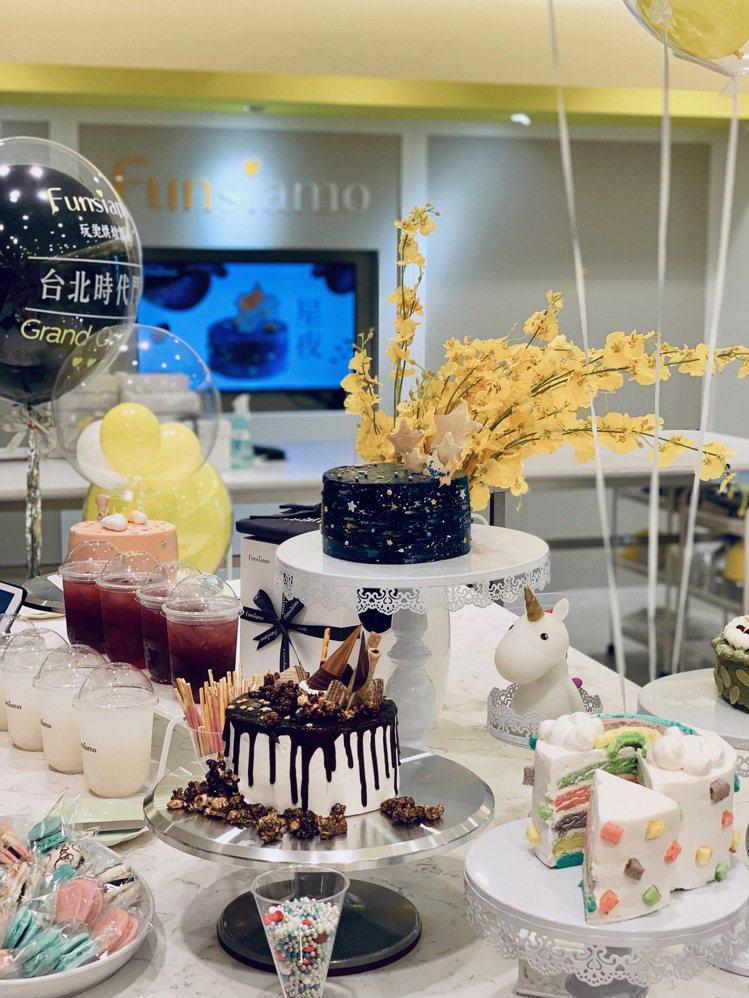 Funsiamo統一時代台北店開幕。記者張芳瑜/攝影