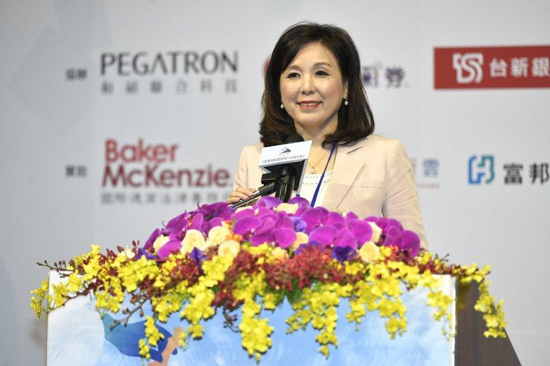 台灣玉山科技協會理事長、新光金副董李紀珠。圖/台灣玉山科技協會提供