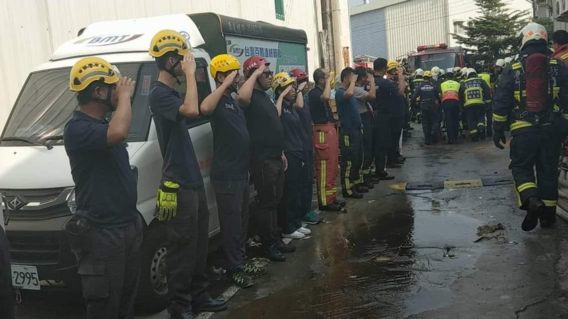 高雄市長韓國瑜發臉書,表示對台中消防員殉職感到相當遺憾、不捨。圖/取自韓國瑜臉書