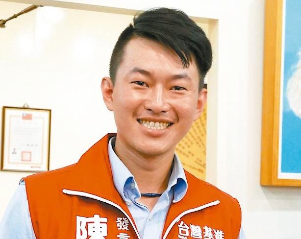 台灣基進黨發言人陳柏惟代表大小綠出征台中二選區,挑戰顏家。 圖/聯合報系資料照片