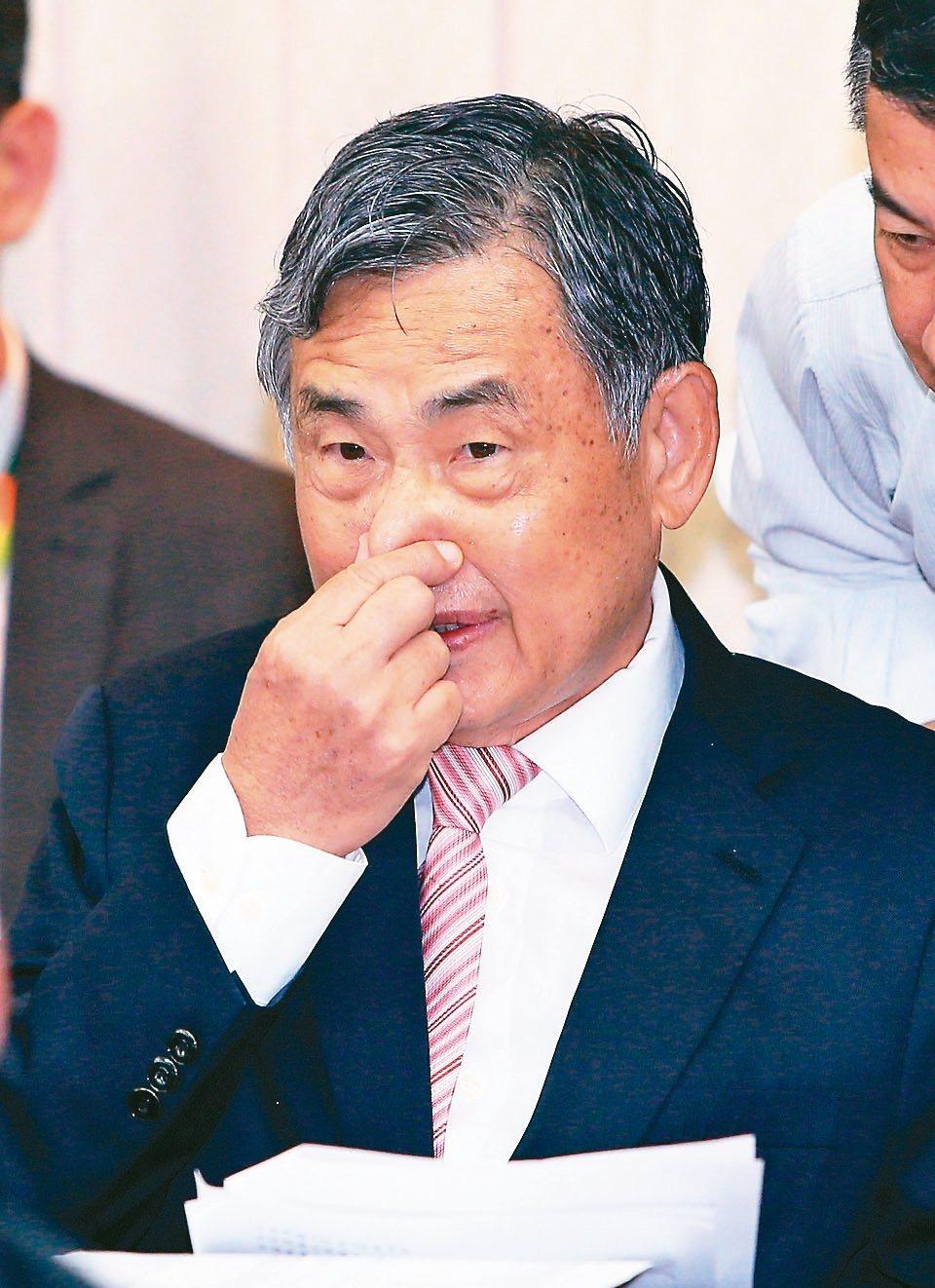 台灣港務公司董事長吳宗榮請辭獲准。 記者潘俊宏/攝影