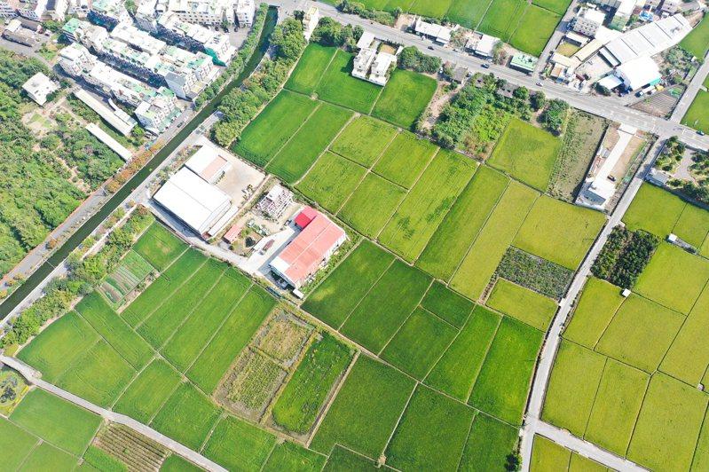 農委會統計,全台有13萬處農地違建。 圖/聯合報系資料照片