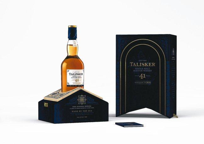 烈酒之王Talisker泰斯卡Bodega酒窖系列第貳章─41年單一麥芽威士忌原...