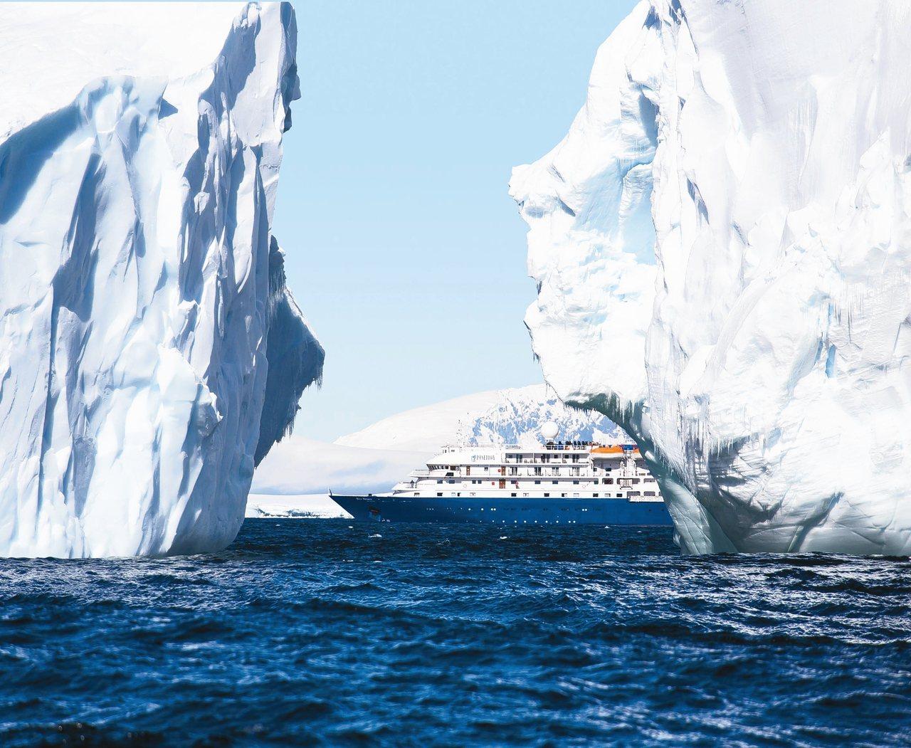 「海精靈號」2020將前進南極。 圖/Poseidon Expeditions提...