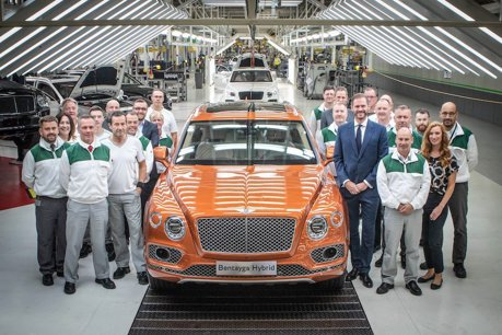 Bentley Bentayga Hybrid正式下線交車 頂級奢華SUV的新突破!