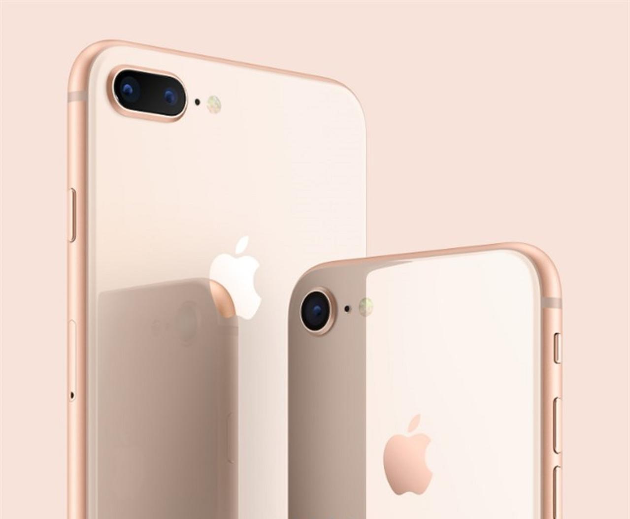 iPhone 8/Plus系列。圖/IT之家