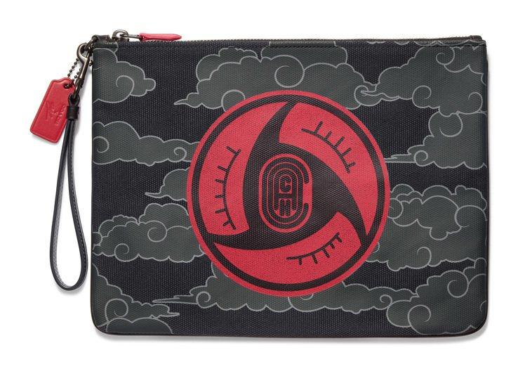 COACH X Michael B. Jordan手拿包,售價9,900元。圖/...
