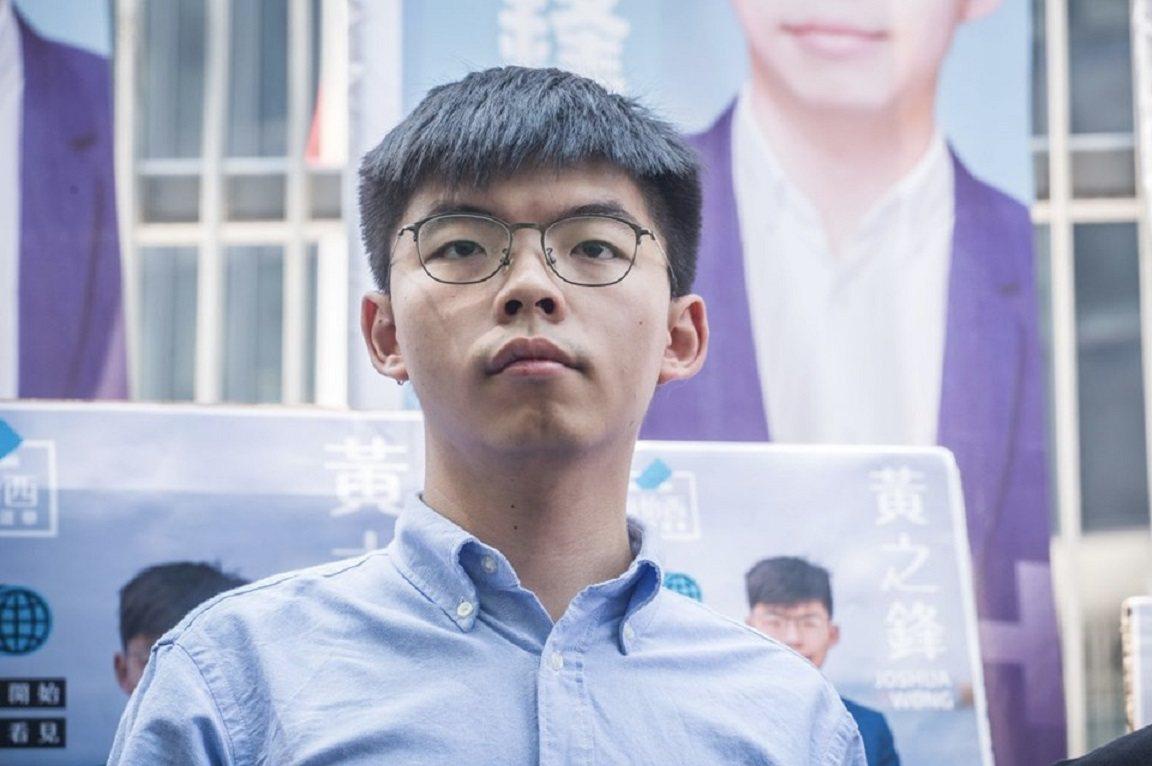 黃之鋒已於9月28日宣布,參加今年區議會選舉。圖/黃之鋒臉書