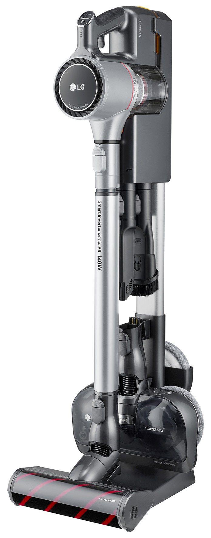 LG CordZero A9+濕拖無線吸塵器,市價24,900元、全國電子周年慶...