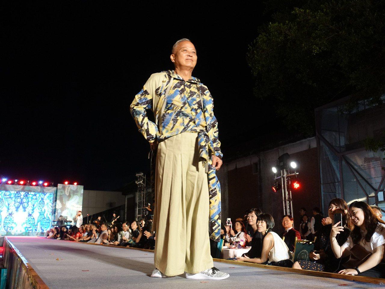 最動人一夜!台灣設計展「設計之夜」一場最特別走秀