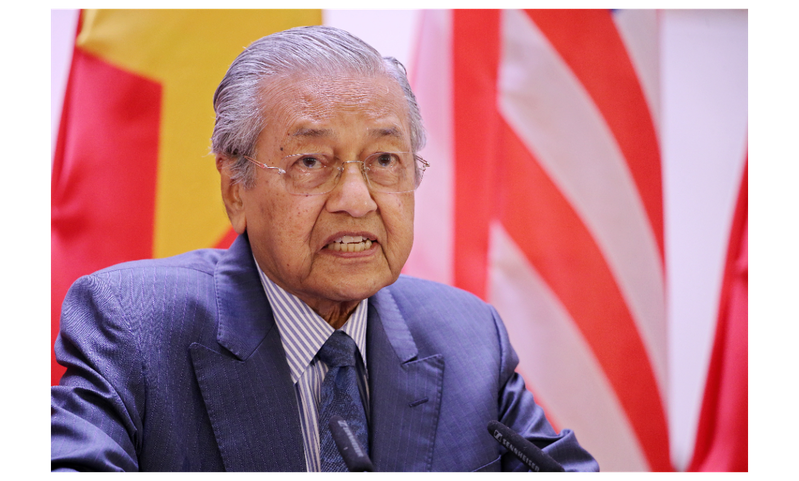 馬來西亞總理馬哈迪4日呼籲香港特首林鄭月娥辭職,避免天安門是件在香港重演。歐新社