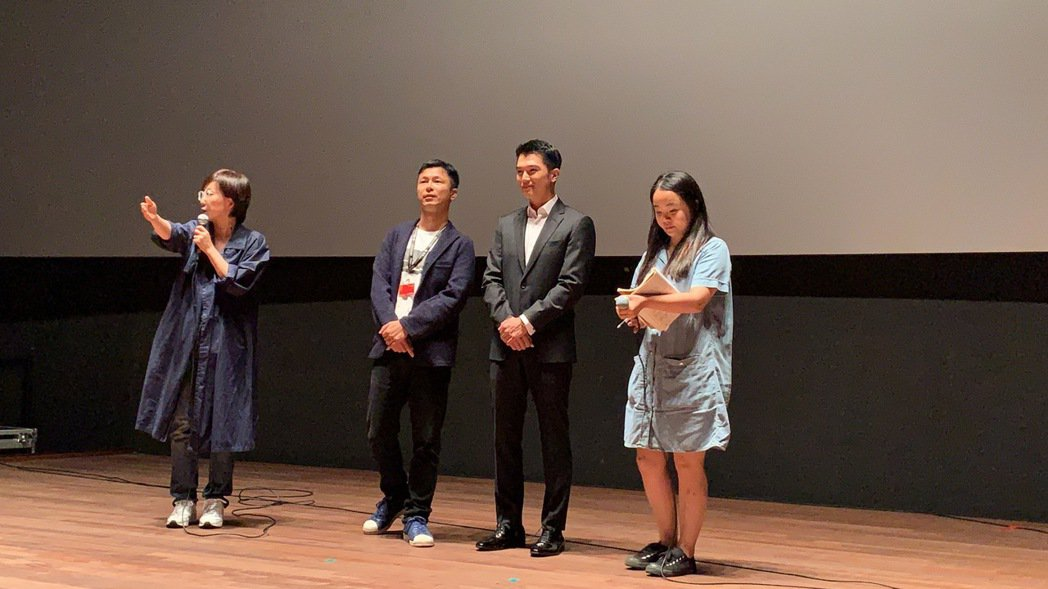 邱澤新片「江湖無難事」在釜山影展舉辦首映。圖/華映提供