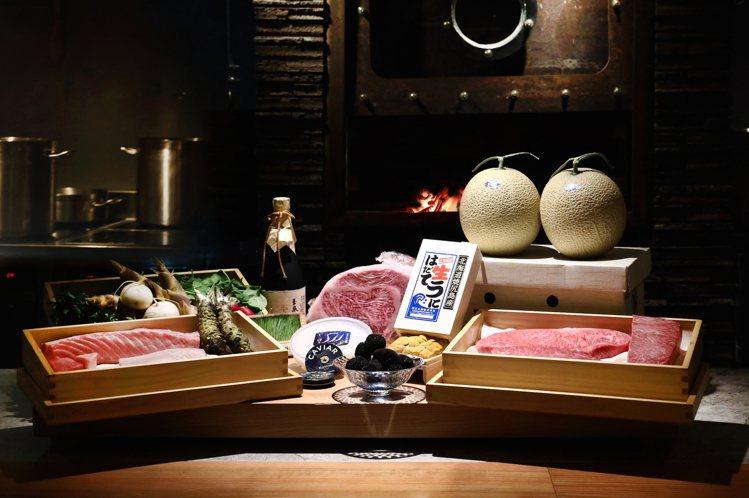 樂軒和牛割烹供應窯燒牛排、和牛燒肉等不同的和牛料理。圖/樂軒提供