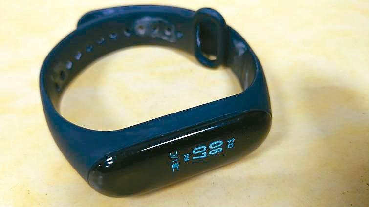 讓我覺得最珍貴的重陽保健禮,莫過於兒子送我的運動手環了。 圖/林明元(高雄市)