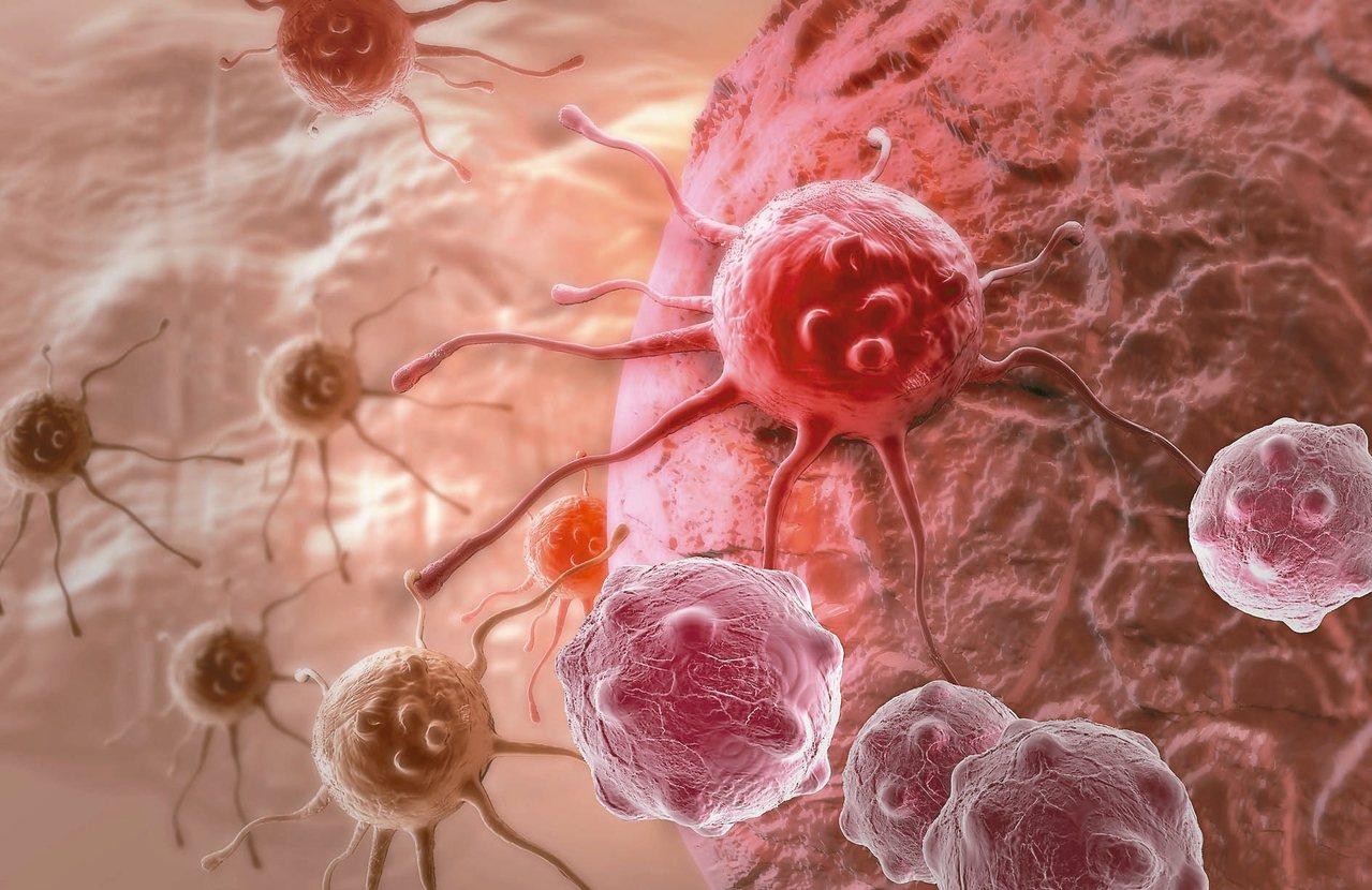 腫瘤細胞容易突變,如果未能徹底消除,就會快速成長。 圖/123RF