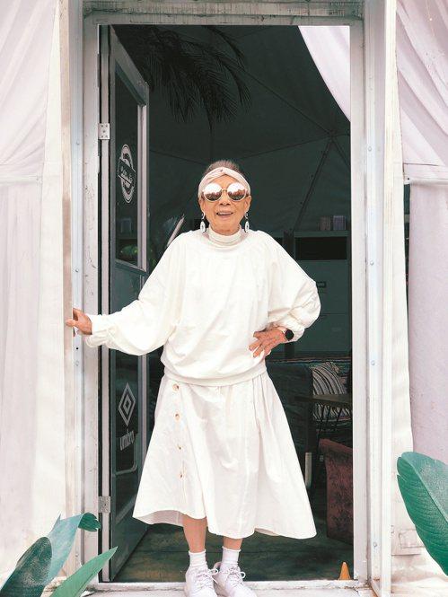 林莊月里是台灣潮嬤。圖/寶瓶文化出版提供