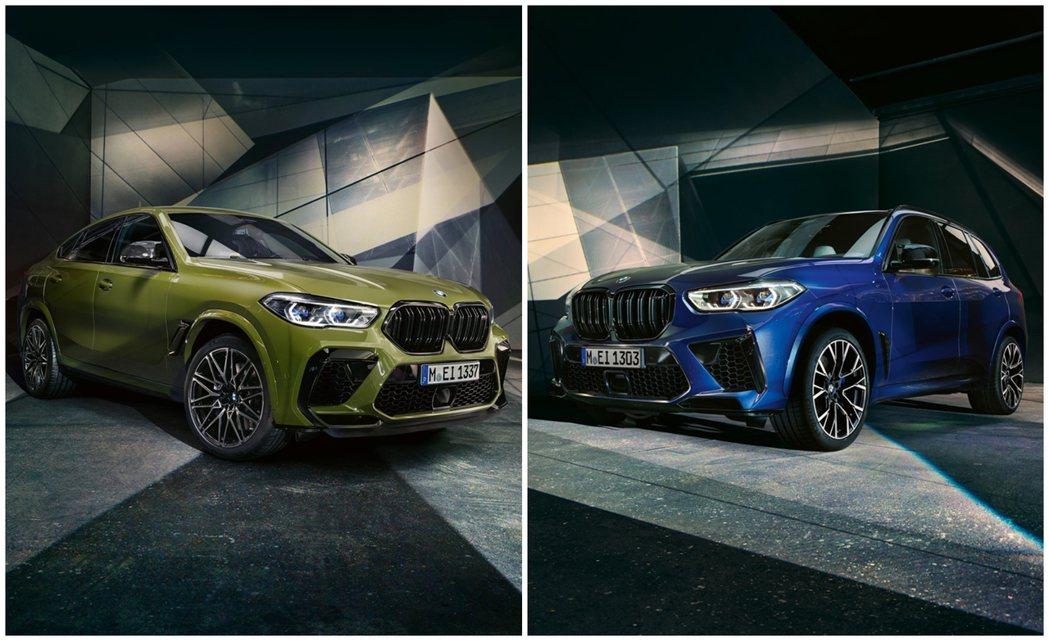 新世代BMW X5 M (F95) 與X6 M (F96)。 摘自BMW M