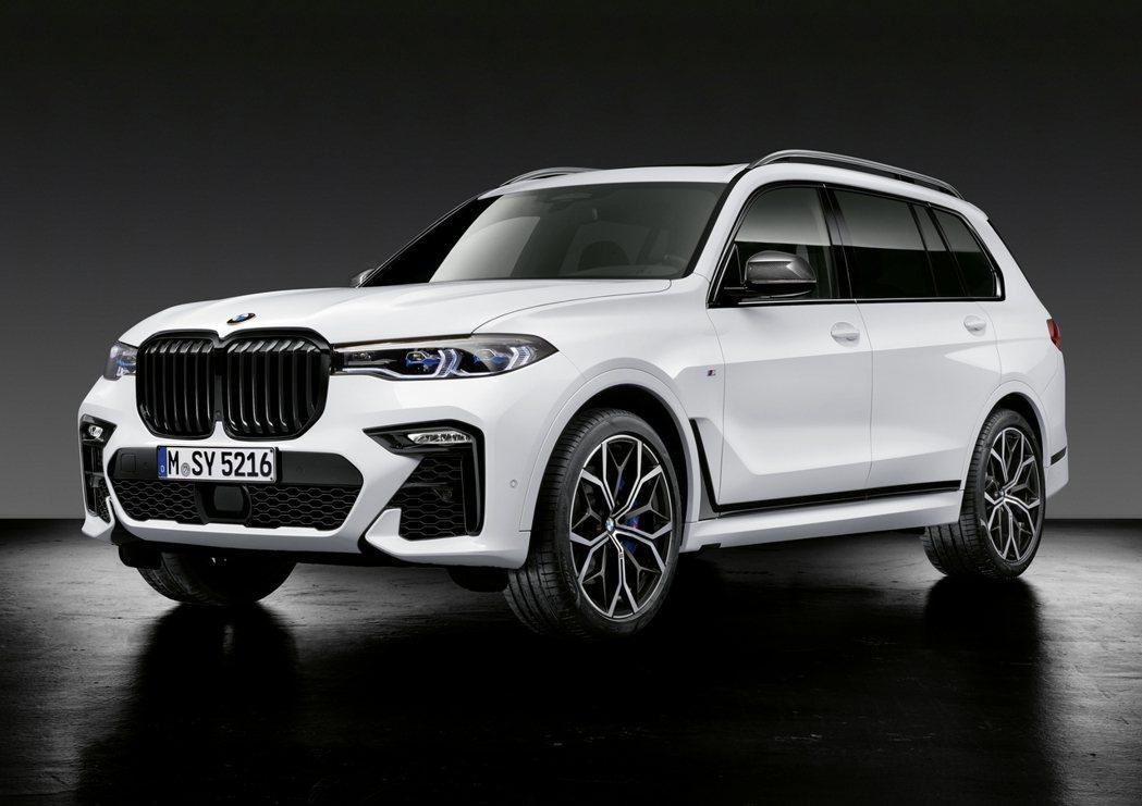 走豪華貴氣路線的BMW X7也有專屬M Performance套件。 摘自BMW