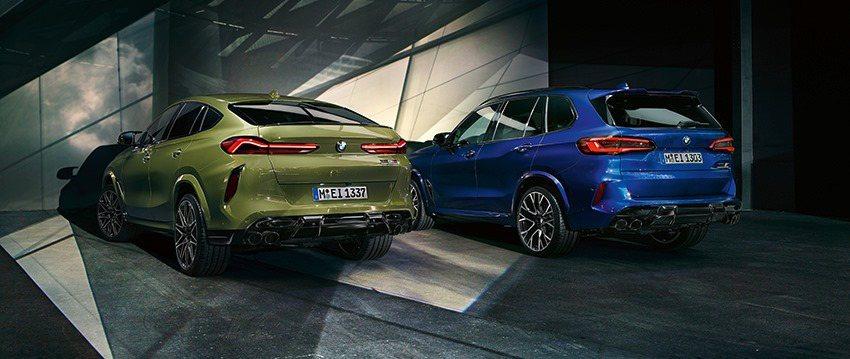 新世代BMW X5 M (F95) 與X6 M (F96) 已於2日發表。 摘自...