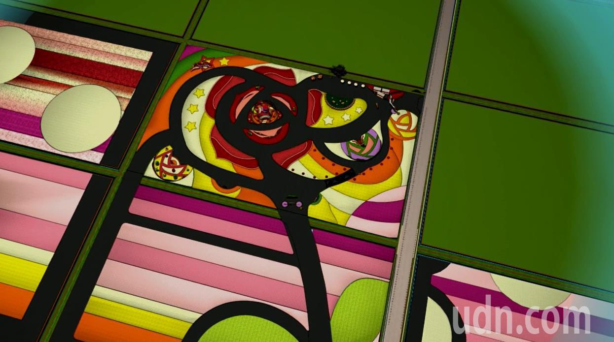 台中國際花毯節首支動畫CF今天發表,透過3D模擬動畫,提前帶民眾一窺花毯節園區風...