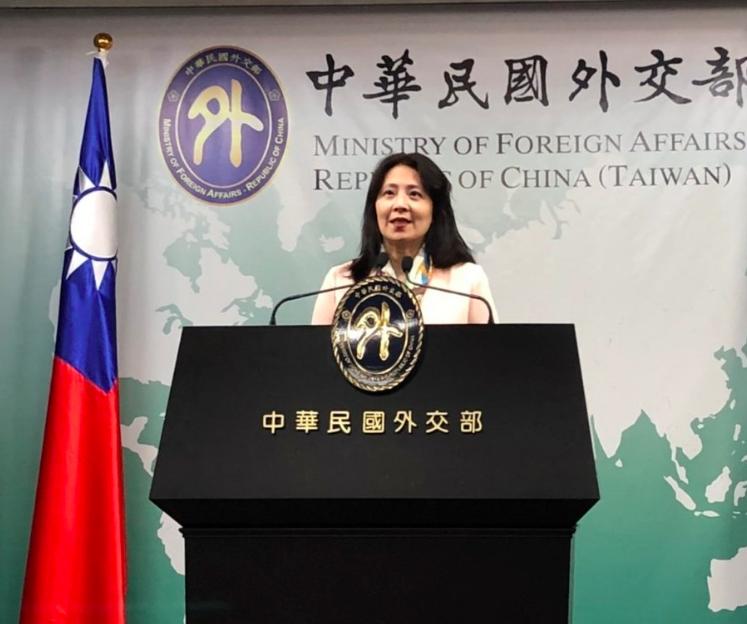 外交部發言人歐江安。記者張文馨/攝影