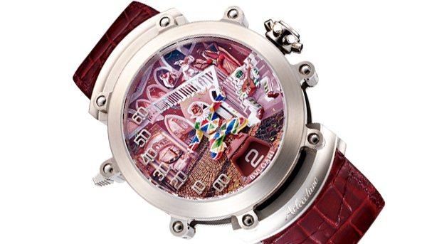寶格麗出借千萬名錶。圖/摘自網路