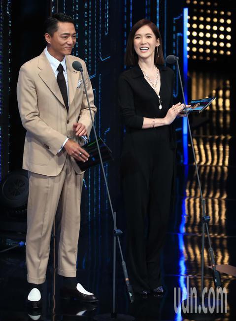 藍葦華、孫可芳擔任頒獎嘉賓。
