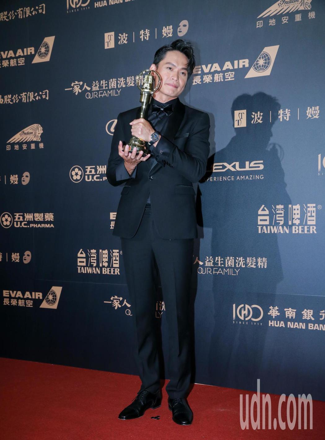 第54屆電視金鐘獎迷你劇集電視電影男配角獎由黃鐙輝以奇蹟的女兒獲得。記者許正宏/