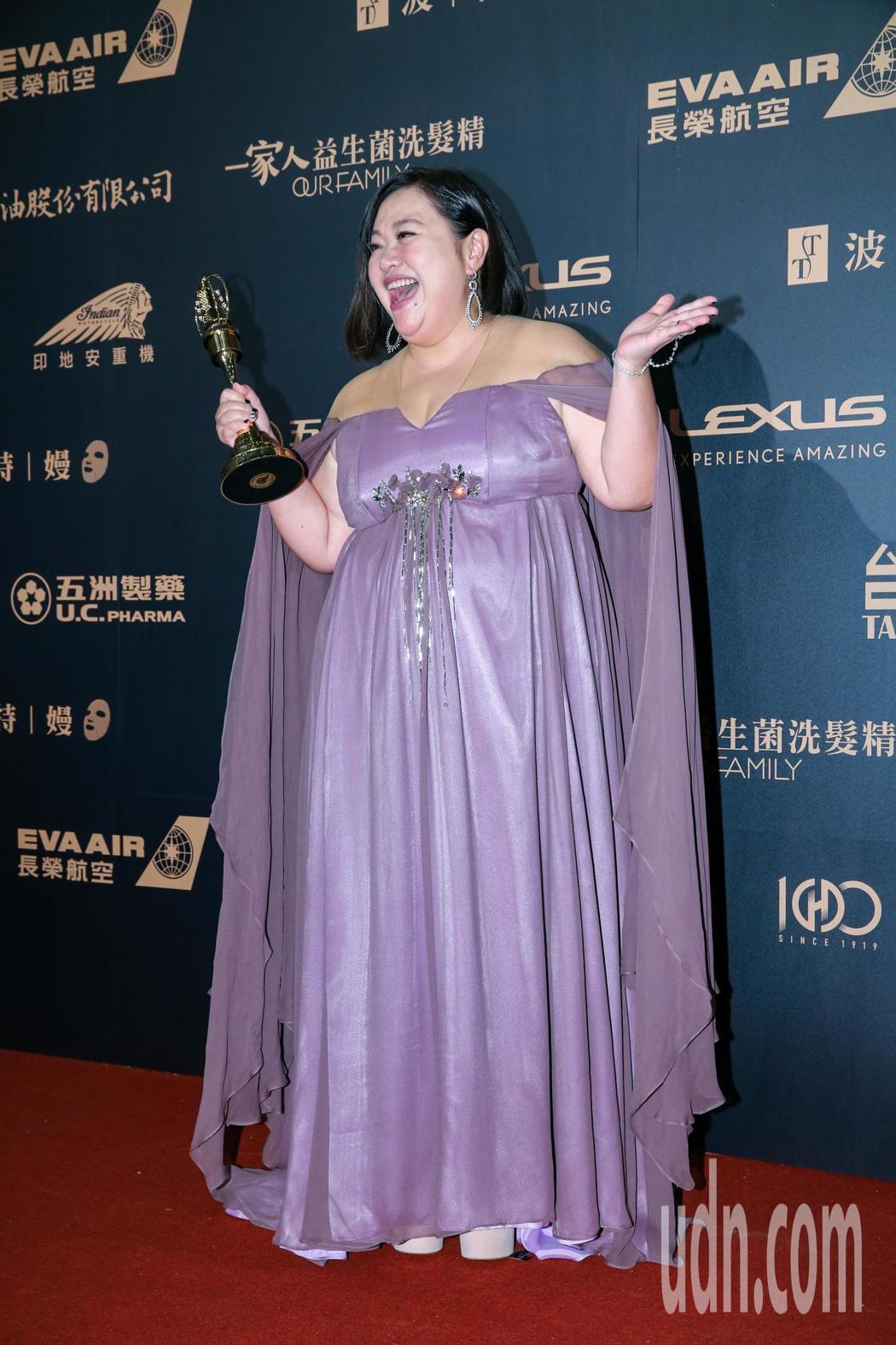 第54屆電視金鐘獎電視電影迷你劇集女主角獎由鍾欣凌以你的孩子不是你的孩子-貓的孩...