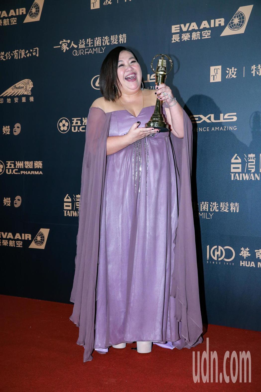 第54屆電視金鐘獎電視電影迷你劇集女主角獎由鍾欣凌以你的孩子不是你的孩子-貓的孩