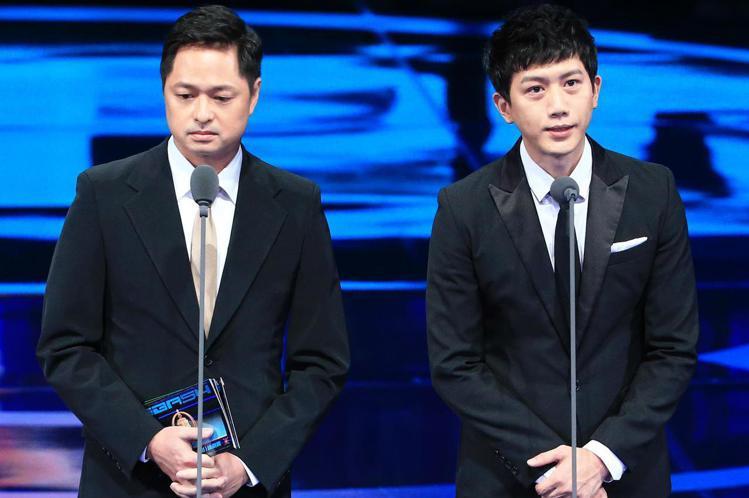 金鐘54,莫子儀、鄭有傑擔任頒獎人。