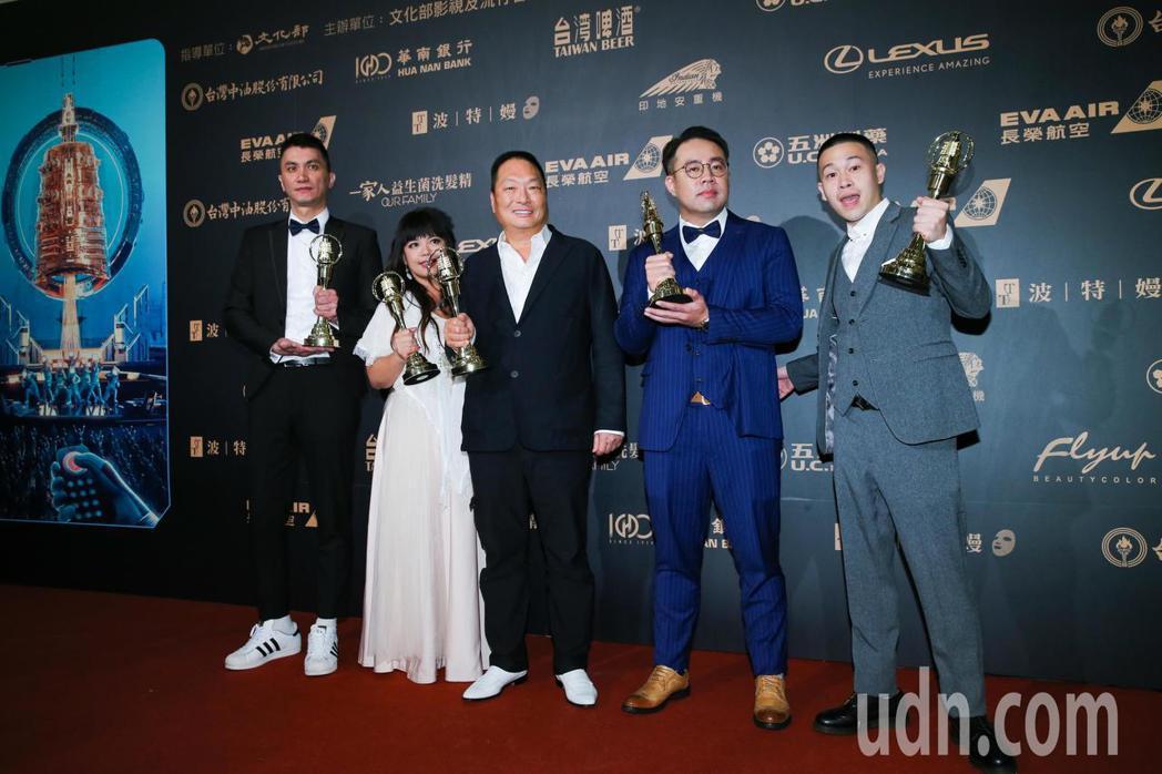 第54屆電視金鐘獎綜藝節目獎由聲林之王獲得。記者許正宏/攝影