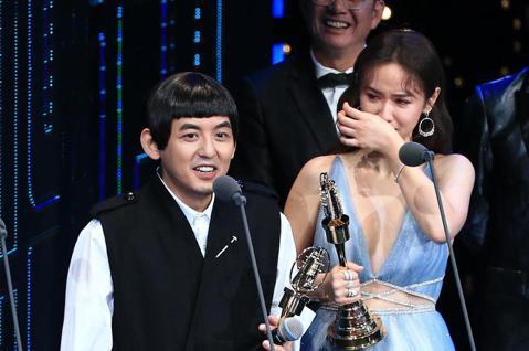 黃子佼、吳姍儒獲得益智及實境節目主持人獎。