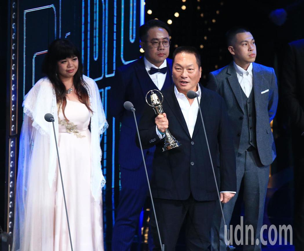 「聲林之王」獲得綜藝節目獎。記者林伯東/攝影
