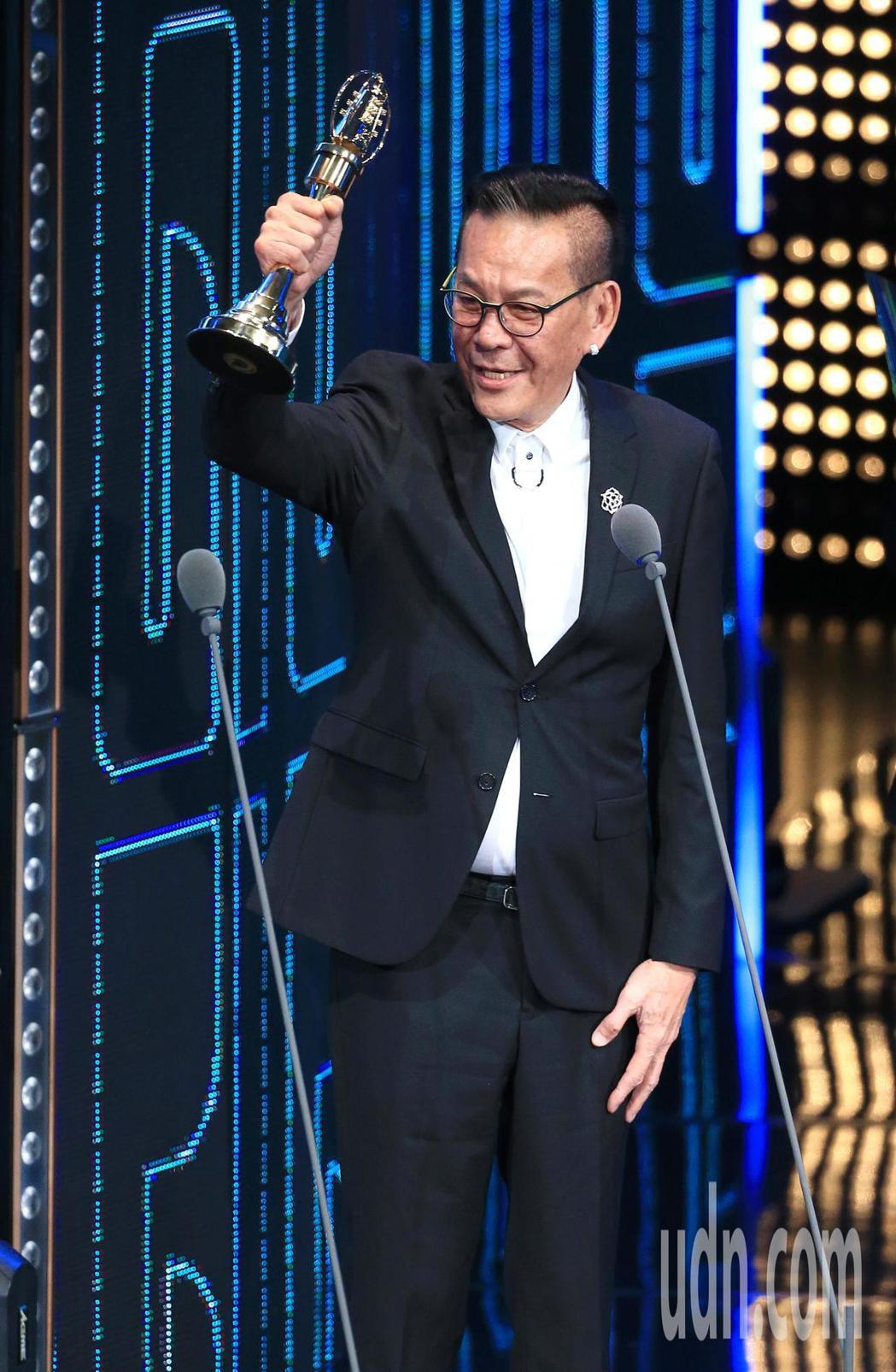 龍劭華獲得戲劇節目男主角獎。記者林伯東/攝影