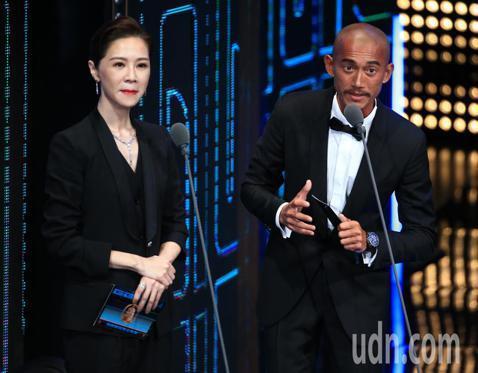 吳慷仁、謝盈萱擔任頒獎人。