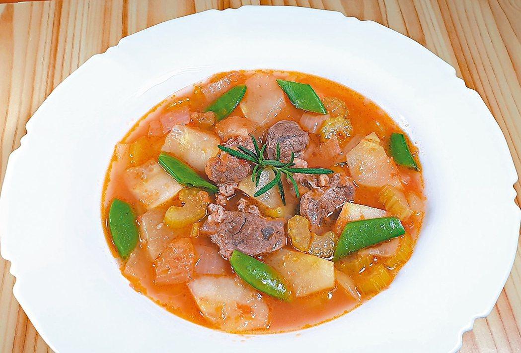 牛肉&香草蔬菜茄汁湯