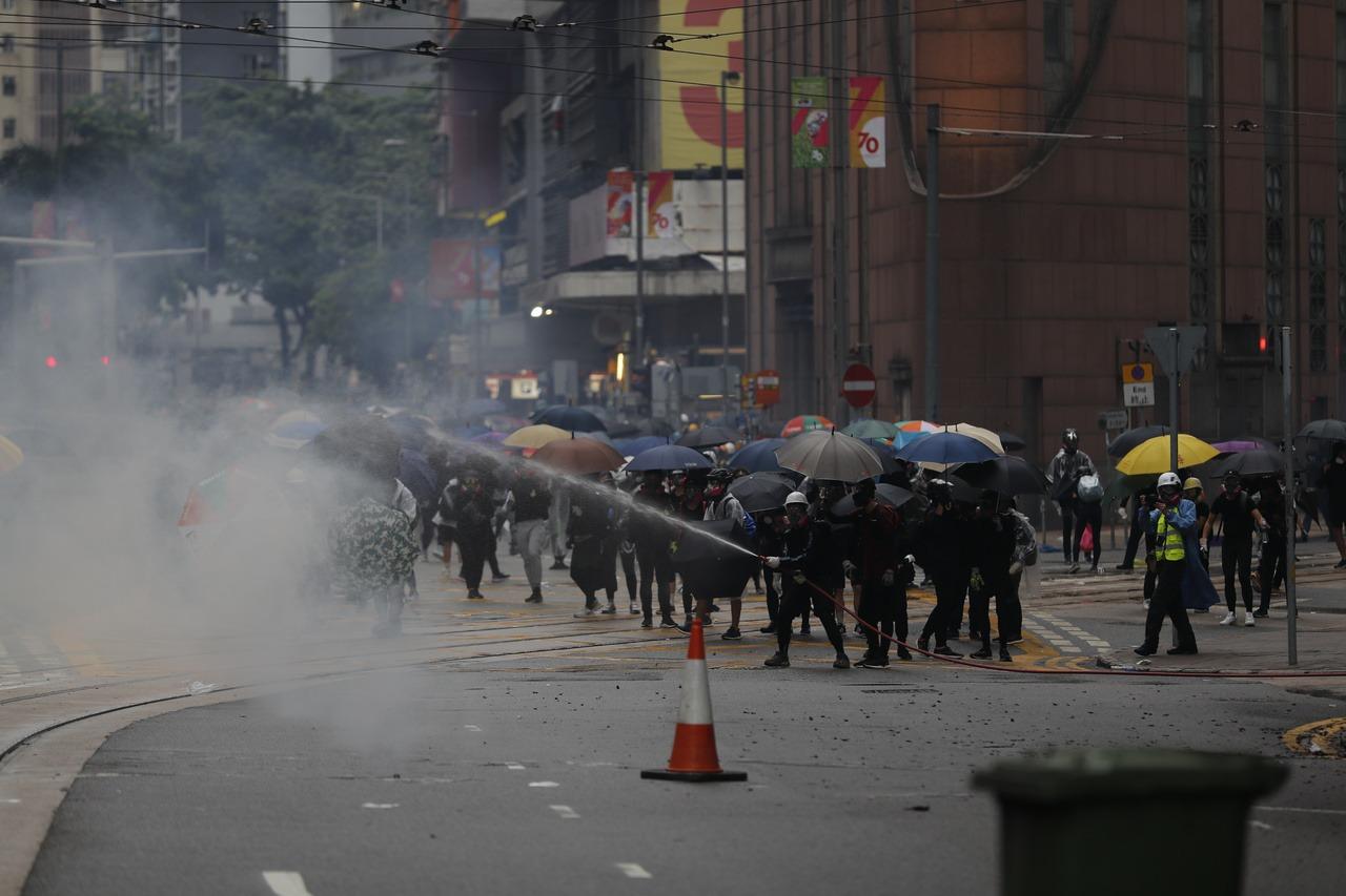 影/「反送中」衝擊 外界預估香港今年經濟零成長