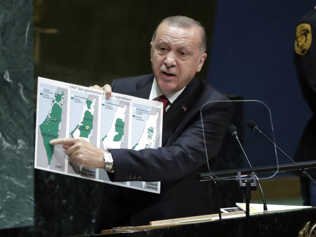 土耳其總統艾爾段。 歐新社