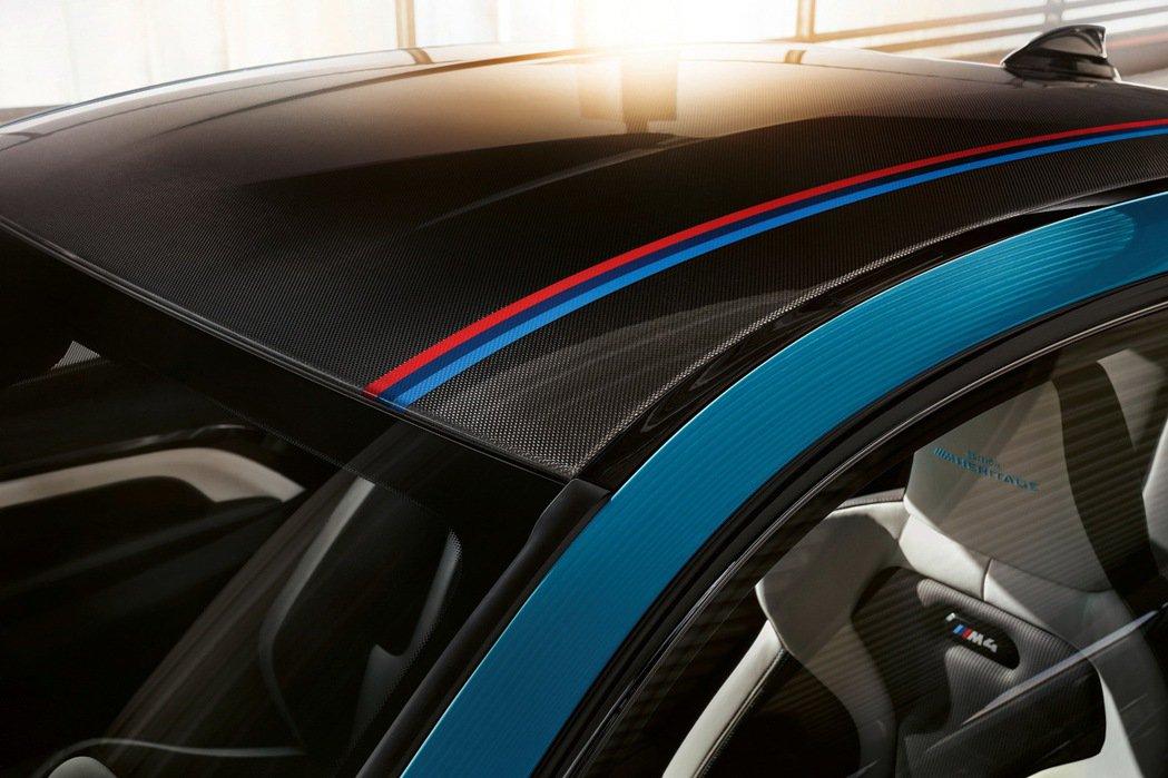 BMW M4 Edition ///M Heritage於碳纖維車頂增添M三色飾...