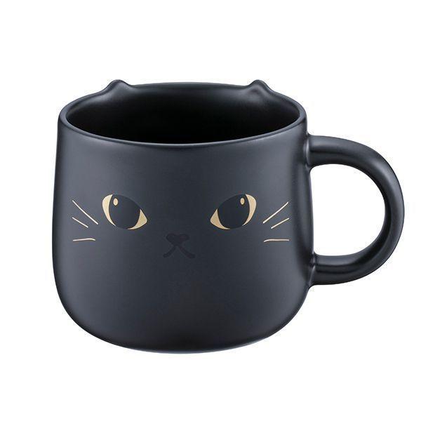 圖/俏皮黑貓馬克杯,售價NT450。容量:12oz。