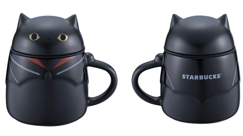 圖/黑貓變裝騎士馬克杯,售價NT880。容量:12OZ。
