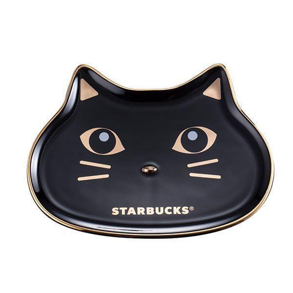 圖/神秘黑貓造型盤。售價NT580。(線上門市限定)