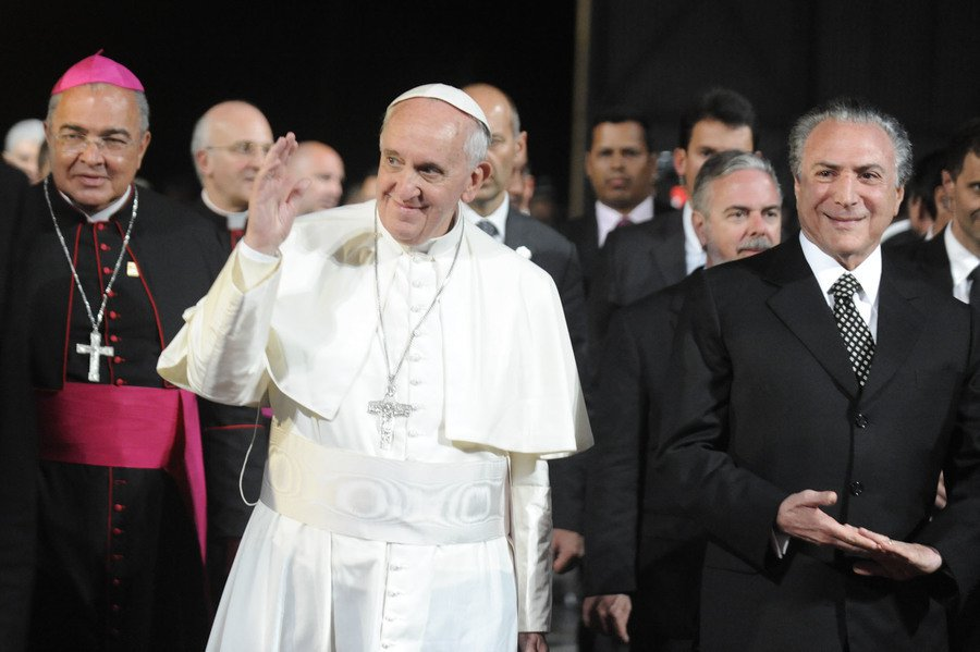 教宗方濟各5日一口氣任命13名樞機主教,展現他對未來教會的願景。(photo b...