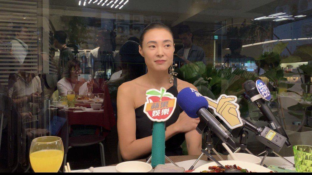 曾珮瑜出席民視「雙城故事」慶功宴。記者陳慧貞/攝影