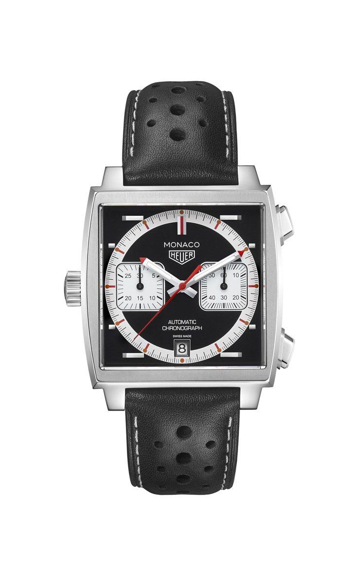 泰格豪雅Monaco 1999–2009限量典藏版腕表,不鏽鋼表殼,限量169只...