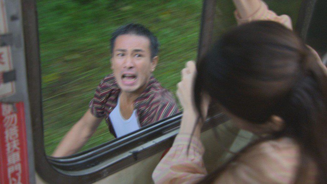 傅子純在「多情城市」中苦追廖苡喬。圖/民視提供