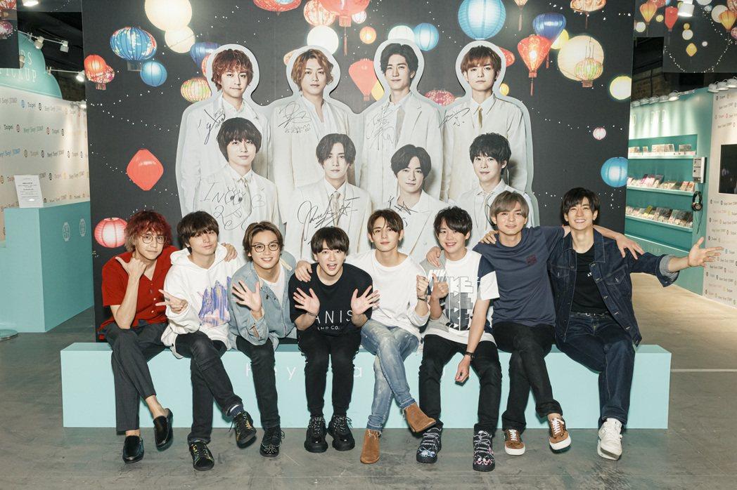 Hey!Say!JUMP為台灣演出相當用心。圖/超級圓頂/大鴻藝術提供