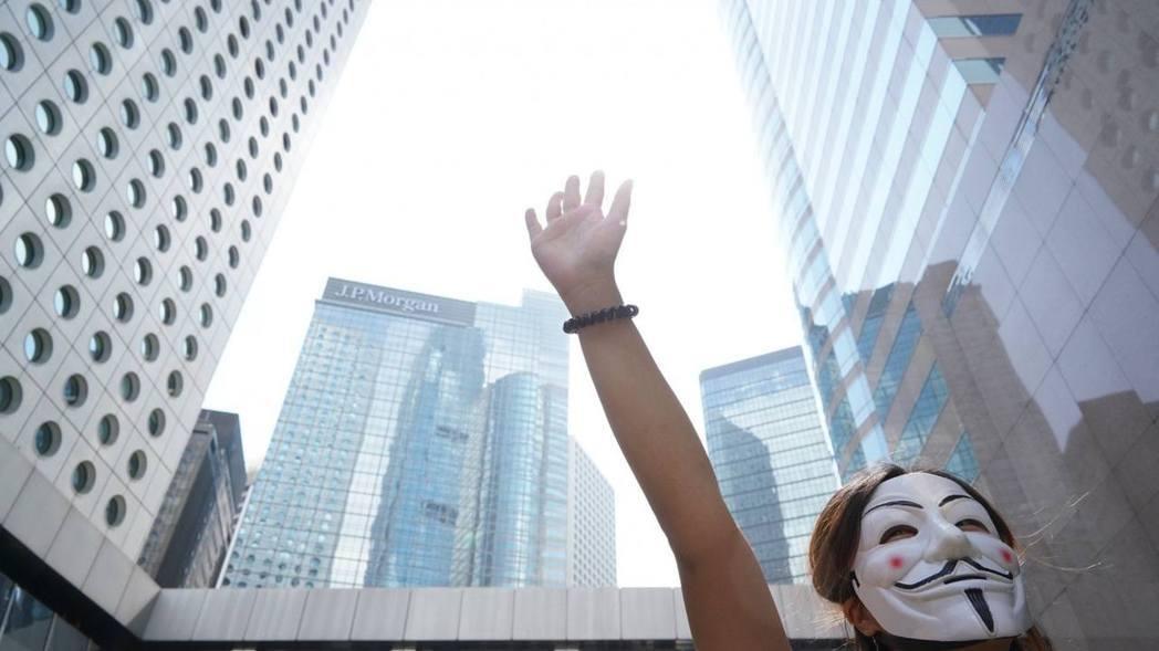 香港反送中示威持續。圖/取自香港01